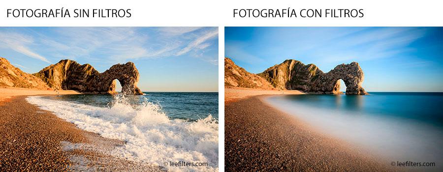 Uso de filtros para fotografía de paisaje