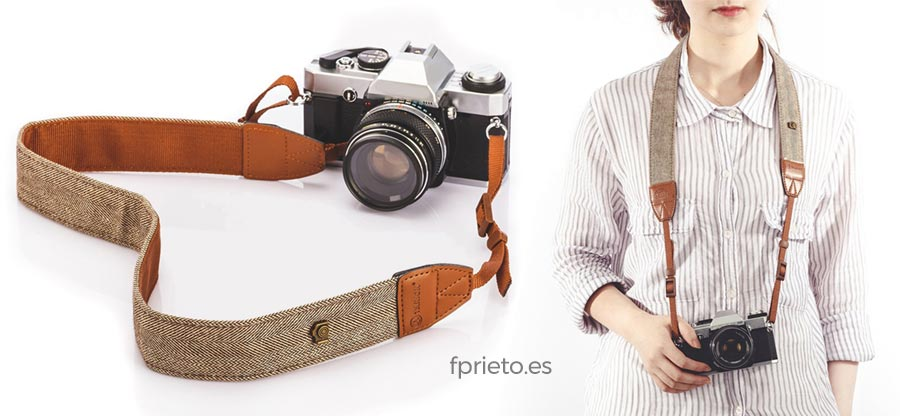 correa vintage retro camara fotos regalo fotografia