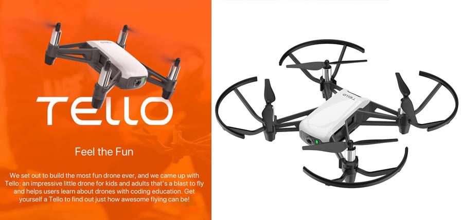 dron iniciacion dji tello fotografia