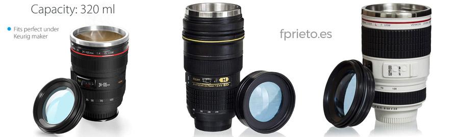 taza-objetivo regalo fotografía
