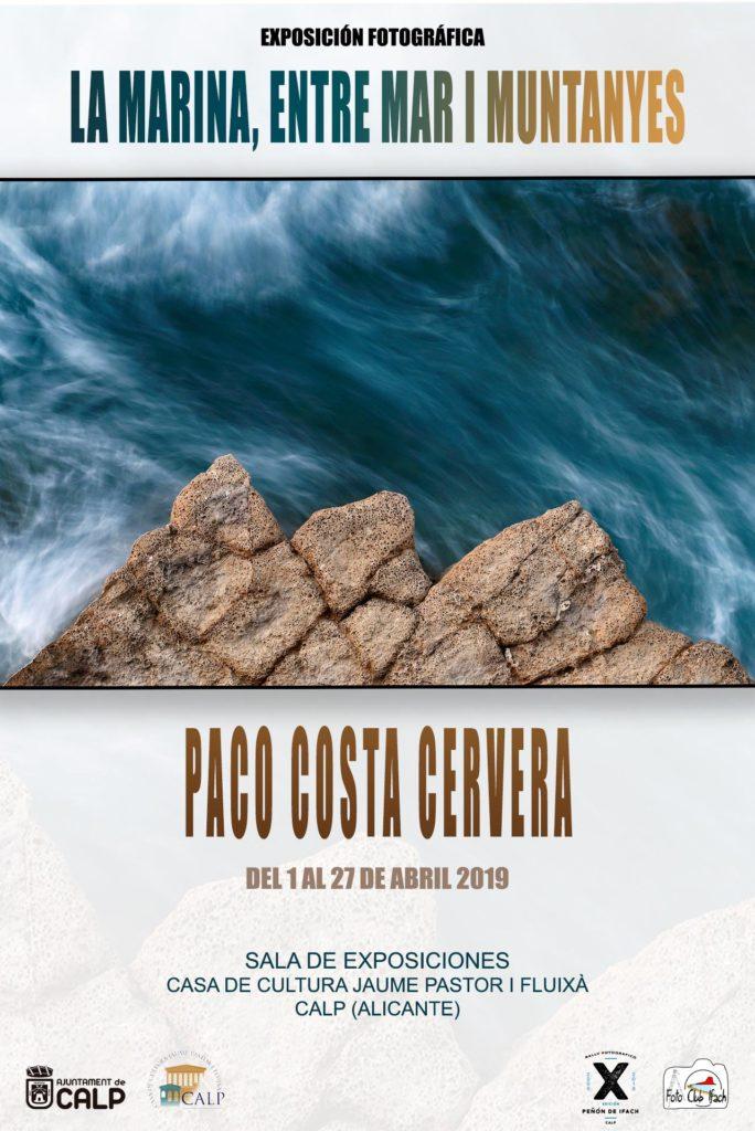 Exposición Paco Costa Calpe Abril 2019