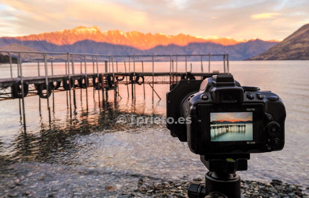 Material fotográfico para el viaje a Nueva Zelanda