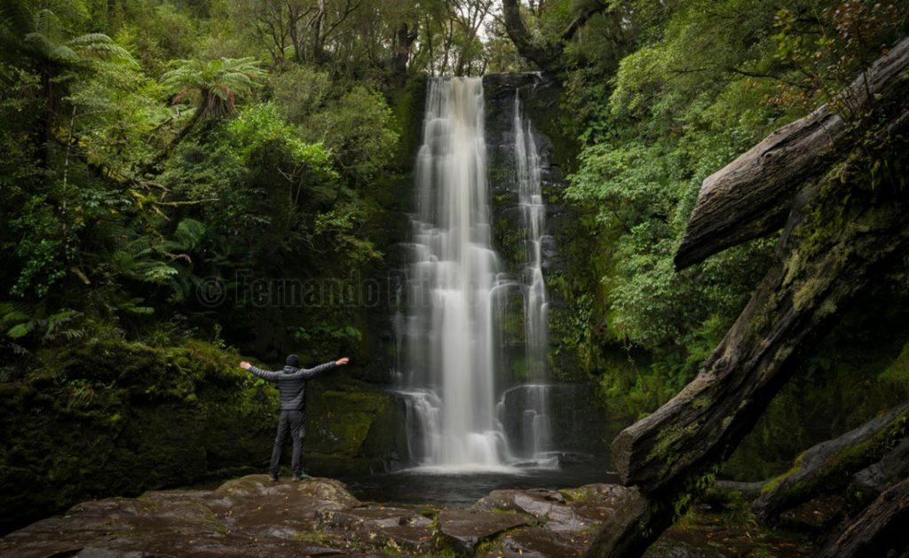 Mc Lean Falls, Nueva Zelanda